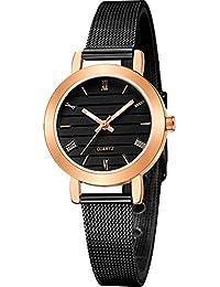 ZXMBIAO Reloj De Pulsera Reloj De Mujer Reloj De Pulsera De Cuarzo De Acero  Inoxidable con dce5416f98a0