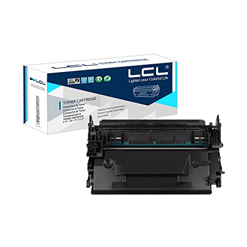 Preisvergleich Produktbild LCL kompatibel 87A 87X CF287A CF287X 18000Seiten (1-Stück,  Schwarz)Tonerkartusche kompatibel für HP LaserJet Enterprise M506dn / M506x / M506n
