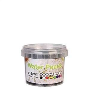 12mm Perles d'eau Gel Boules, (rend 11ltrs) Noir 100g (2809)