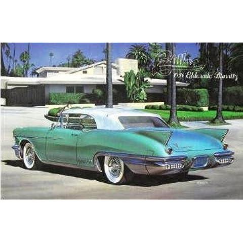 1958 Cadillac Eldorado Biarritz Convertible Top up 1-24 Arii [Toy] (japan import)