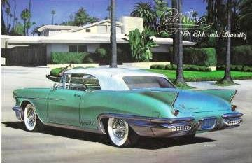 Preisvergleich Produktbild 1958 Cadillac Eldorado Biarritz Convertible Top up 1-24 Arii (japan import)