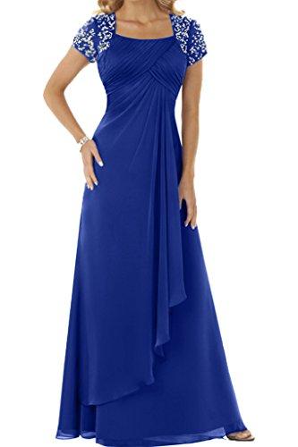 Ivydressing - Tailleur-robe - Trapèze - Femme bleu roi