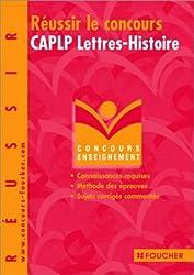Réussir le concours CAPLP Lettres - Histoire