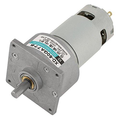 5-600 RPM Speed   Reducer Getriebemotor DC 12/24V 35W CW/CCW Micro Hohe Drehmoment Drehzahl Getriebe(12V 600RPM) -