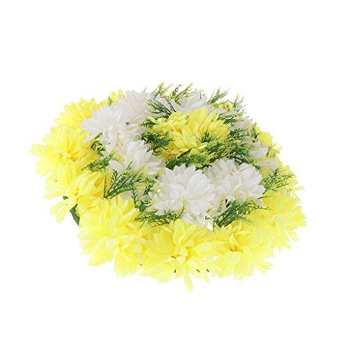 Baoblaze Handgemachte Blumen Grabgesteck Grabschmuck für Totensonntag Allerheiligen und Trauerfeier