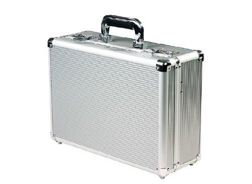 Domus acs01 valigia in alluminio a combinazione, argento