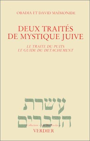 Deux traits de mystique juive