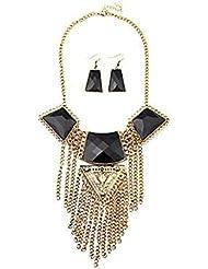 GYJUN Bijoux Colliers décoratifs Boucles d'oreille Gland Mariage Soirée Quotidien Décontracté 1set Femme