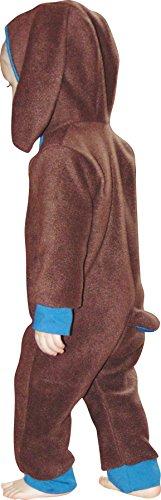 �schen) Kostüm/Overall/Strampler/Strampelanzug aus Fleece Schnittmuster mit Anleitung für Anfänger, Größe 56-98 zum selber Nähen ()