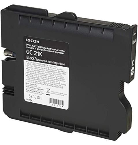 Ricoh 405532 GC-21K gelpatrone 1.500 Seiten, schwarz - 21k Toner Schwarz