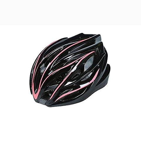 Lei HuanLeBao Fahrradhelm Professionelle hochwertige Sonnenschutz-Sicherheits-Fahrrad Ein Form-Reithelm Männer und Frauen Helme , pink
