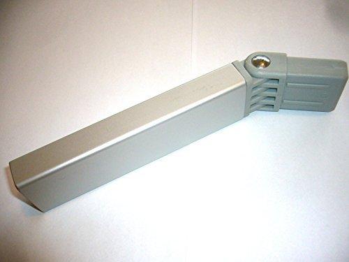 Buggypod conector adaptador de barra en plata y negro