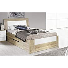 Suchergebnis Auf Amazon De Fur Bett Eiche Sonoma 100x200