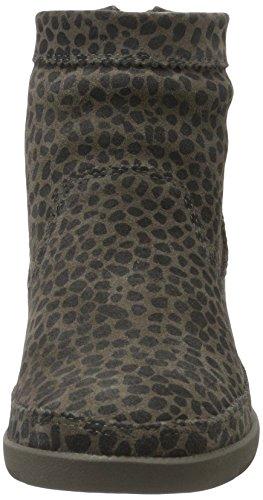 Shoe the Bear Emmy Leo, Sneakers Hautes Femme Gris (141 Dark Grey)