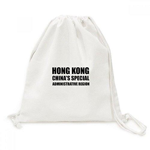 DIYthinker Viajes a Hong Kong China Región Administrativa Especial de la Lona del morral del Lazo Bolsas de la Compra
