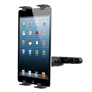 kwmobile Support appuie-tête pour tablette pour Apple iPad 2 / 3 / 4 noir - appuie-tête support tablette voiture automobile