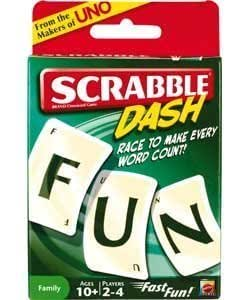 Mattel Scrabble Dash Card Game by Mattel (English Manual)