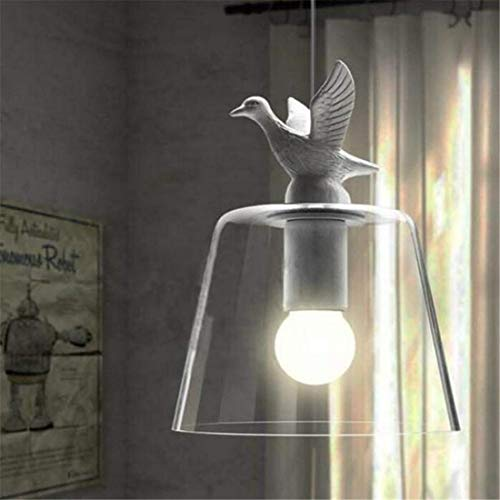 Pendant Modern European Little Duck Chandelier Led Lamps Living Room Led Chandelier E27 Led Light Art Glass Led Lustre Chandeliers (Glass Art Duck)