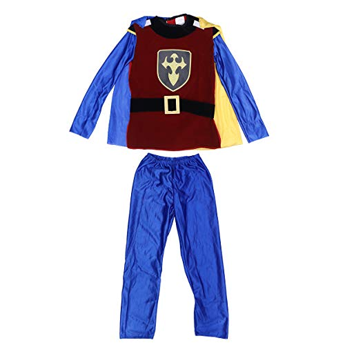 BESTOYARD Kinder Halloween Party Cosplay Leistung Halloween Kostüme Boy King Prince Kleidung Größe XL (Prince Boys Kostüme)