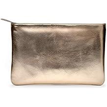 DailyObjects Girl's Canvas Gold Metallic Stash Pouch/Handbag (Multicolour)