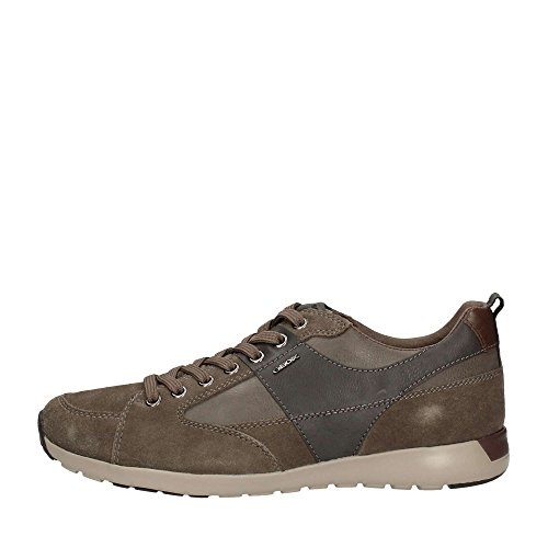 Geox U54F8D022ME Sneakers Uomo Scamosciato Taupe Taupe 40