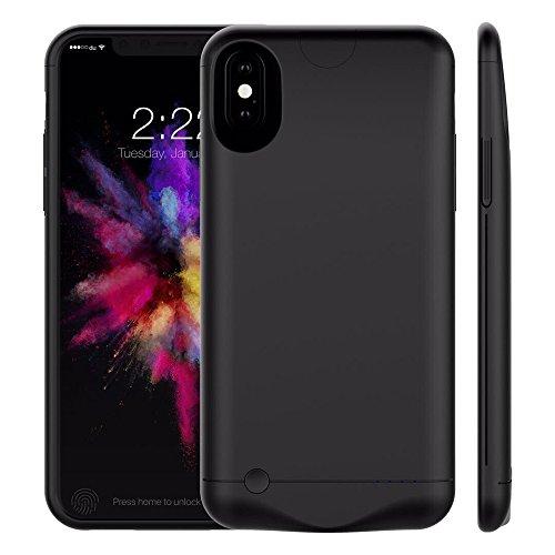 iPhone Funda Carcasa, betteck 5200mAh Ultra Slim batería portátil Batería de copia...