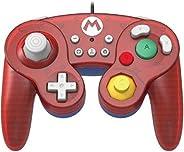جهاز تحكم المعركة من هوري: جهاز تحكم لعبة سوبر ماريو، لسويتش (ناندو)، احمر