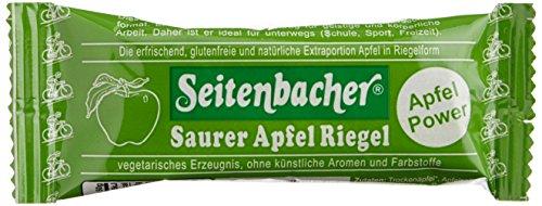 Apfel-Riegel, 12er Pack (12 x 50 g Packung) (Saurer Apfel)