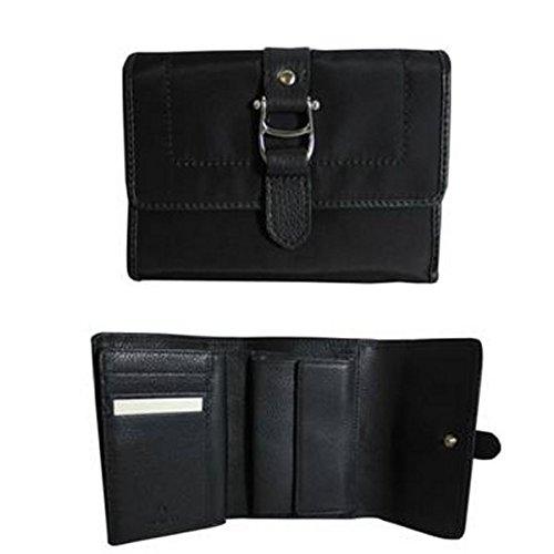 Aigner Damen Geldbörse Geldbeutel 4 Modelle, Modell:schwarz