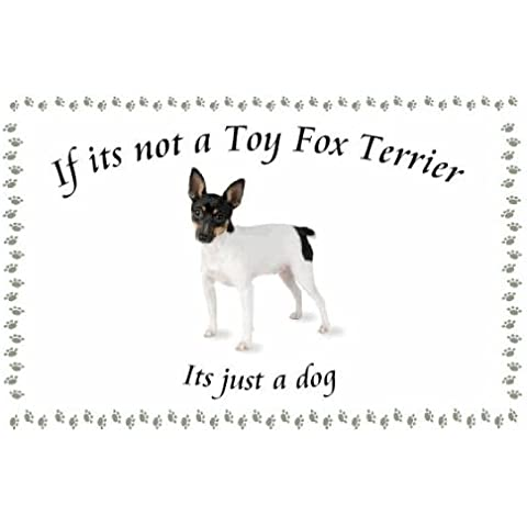 Fox Terrier Toy – Novelty Cane Portachiavi – Se non