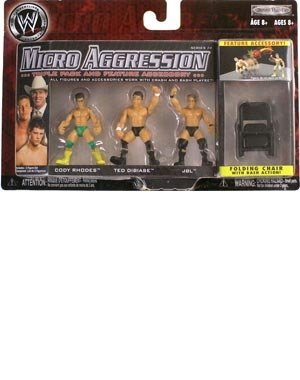 Preisvergleich Produktbild WWE Micro Aggression #14 Figuren: Cody Rhodes , Ted Dibiase , JBL