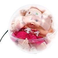 stobok transparente Ball Princesa Hermana Baby Born Surprise dressup muñecas Cosplay Jugar Juguetes (Diseño 3