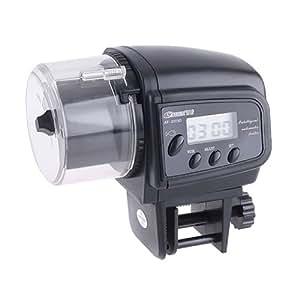 Anself Automatique Numérique Alimentateur Nourrice Distributeur pour les Poissons avec LED Minuteur
