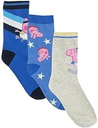 Peppa Pig Boys George The Pig Socks Pack of 3