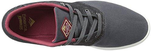 Emerica , Chaussures spécial skateboard pour garçon black/grey/noir