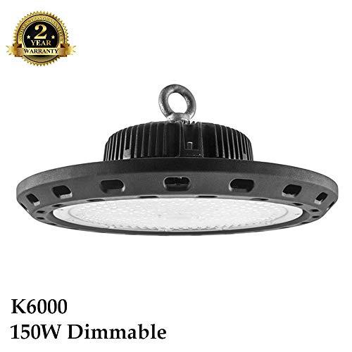 Bridgelux LED-Dunstabzugshaube, 150 W, IP65, Industrie, Lager, große Flächen, 0-10 V, verstellbar