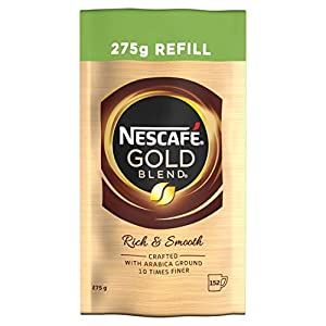 NESCAFÉ GOLD BLEND Instant Coffee Refill, 275 g (Pack of 6)