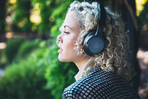 Audio-Technica ATH-AR5BTBK Hochauflösender, drahtloser Over-Ear-Kopfhörer Schwarz - 8
