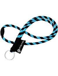 mia Mai Tubular Lanyard (45 cm) Schlüsselband mit Sicherheitsverschluss, Schlüsselring Schlüsselanhänger