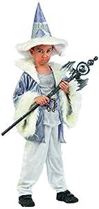 Limit Sport - Disfraz de brujo mago Adalgis para niño, talla 3 (MI782)