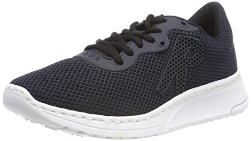 Rieker Damen N5022 Low-top, Blau (Pazifik/Navy/Pazifik), 39 EU
