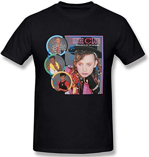 Men's Culture Club Graphic Design Short Sleeve T-Shirt