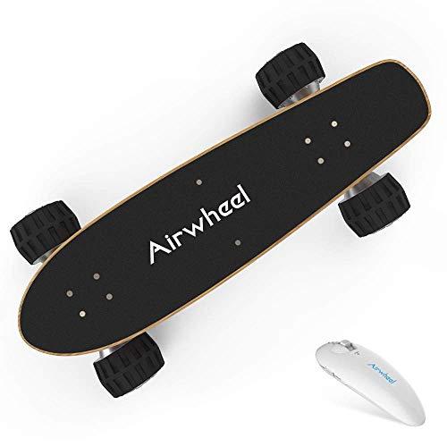 Y&XF Elektrisches Skateboard Longboard 36V 4.4AH 162.8Wh gesteuert von Handhold Wireless Remote und Unterstützung Bluetooth-Verbindung zum Smartphone APP für Erwachsene und Jugendliche 665 Wireless Bluetooth