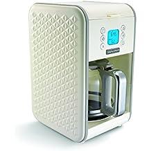 Morphy Richards Cream Pour Over Coffee Machine Vector 163004 Pour-Over Coffee Machine 12 Cup 900w, Cream Coffee Machine