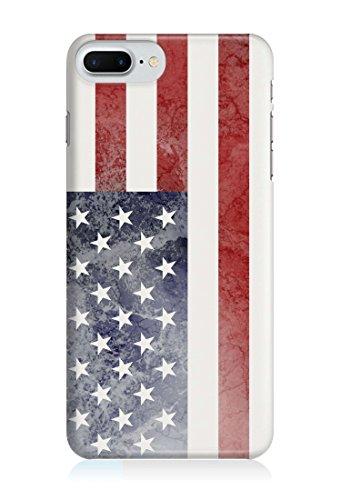 COVER Flagge US amerika Handy Hülle Case 3D-Druck Top-Qualität kratzfest Apple iPhone 6 / 6S