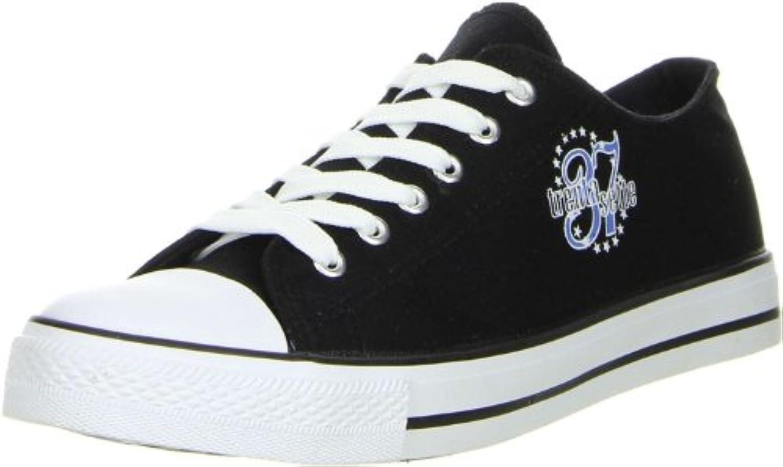 Schuhe Trentasette Damen Herren Sneaker Low Cut schwarz