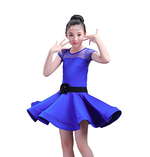Kids Dance Outfits - Kinder Latin Rock,Latin Dance Dress für