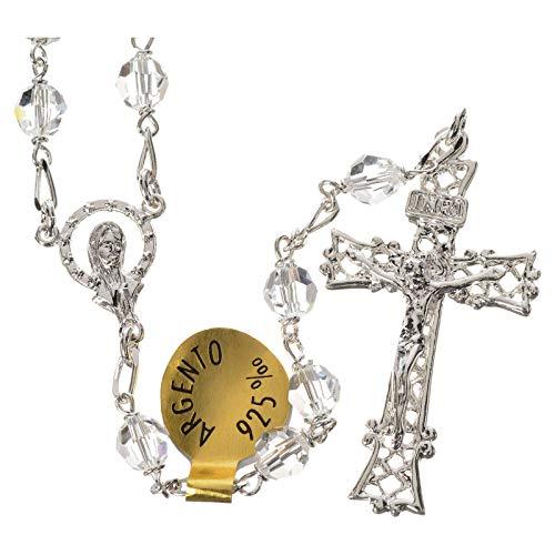 us 925er Silber mit Swarovski Kristallen 5 mm ()