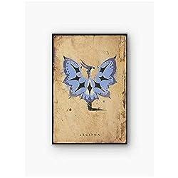 A&D Monster Hunter Leinwand Malerei Kunstdruck Poster Bild Wand Modernen Minimalistischen Schlafzimmer Wohnzimmer Dekoration-50x70cmx1pcs-Kein Rahmen