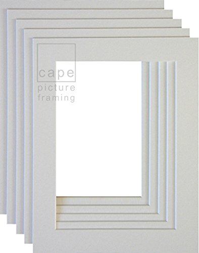 pack-of-10-picture-mounts-a4-overall-size-with-equal-35mm-borders-soft-white-off-white